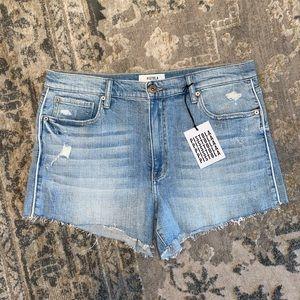 NWT REVOLVE Pistola Jean shorts